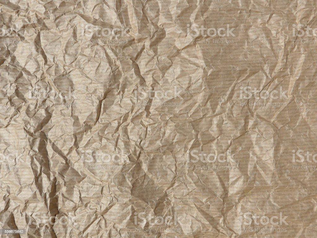 Crumpled paper, texture foto de stock libre de derechos