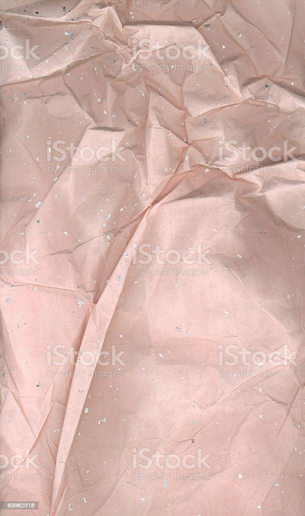 Crumpled sheet (XL) stock photo