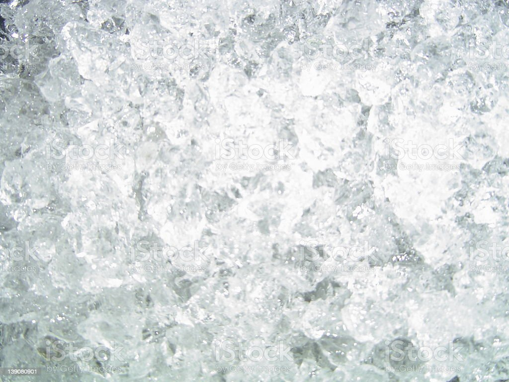Crunched ice royalty-free stock photo