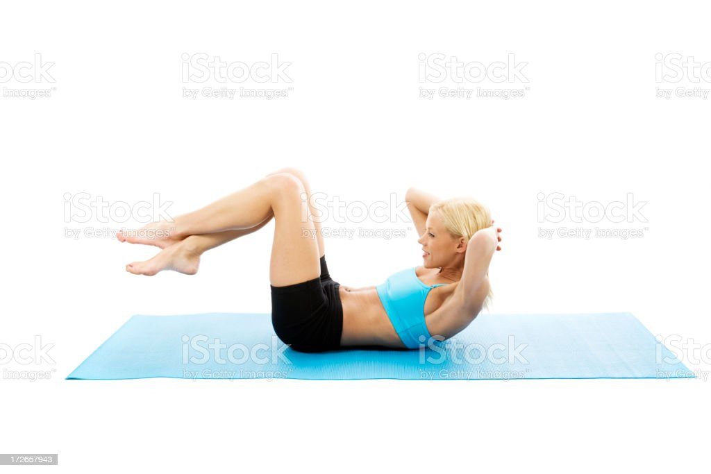 Crunches royalty-free stock photo