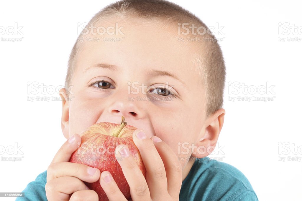 Crunchy Apple royalty-free stock photo