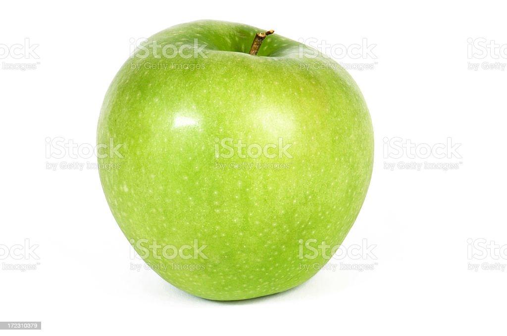 Crunchy Granny Smith Green Apple royalty-free stock photo
