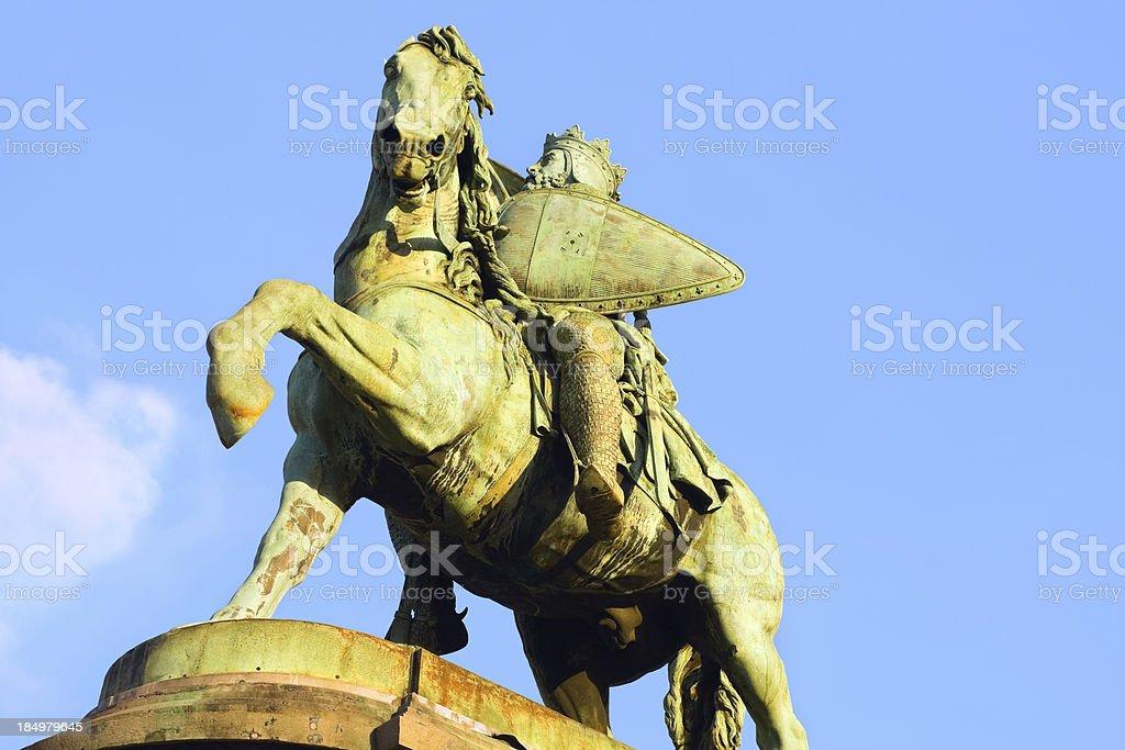 Crusade leader Godfrey de Bouillon stock photo