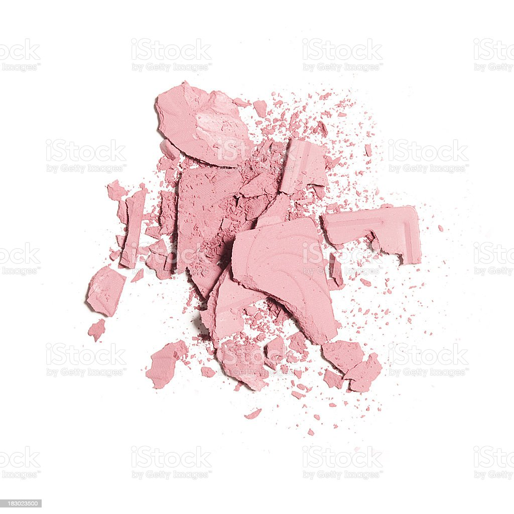 Crushed Blush royalty-free stock photo