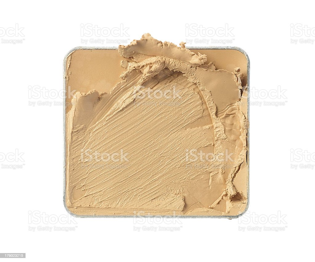 Crushed face powder royalty-free stock photo