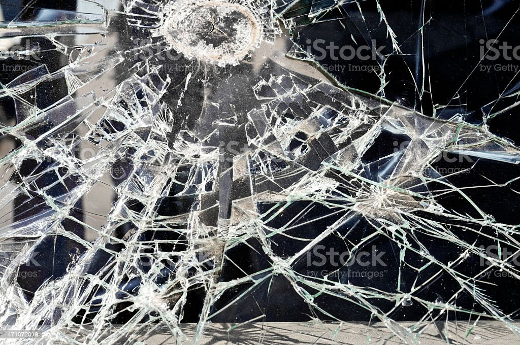 crushed glass royalty-free stock photo