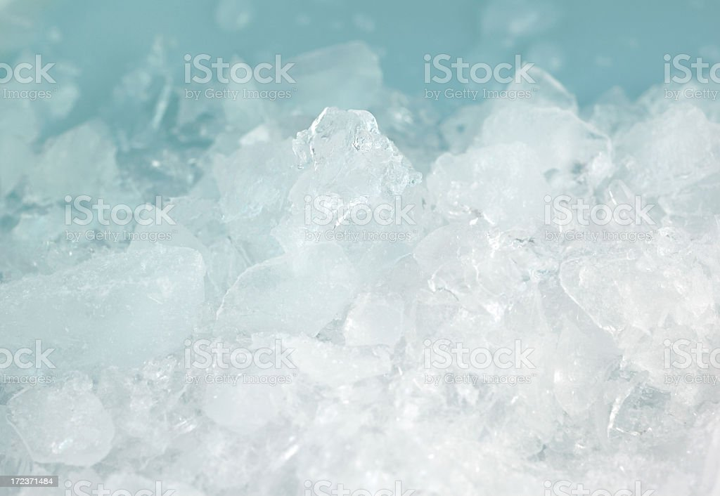 Crushed ice royalty-free stock photo