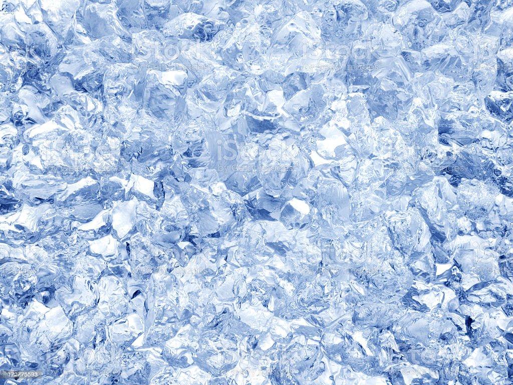 Crushed Ice stock photo