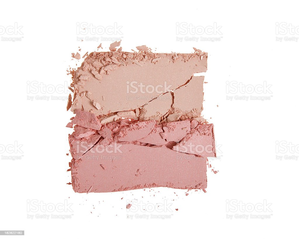 crushed make up royalty-free stock photo