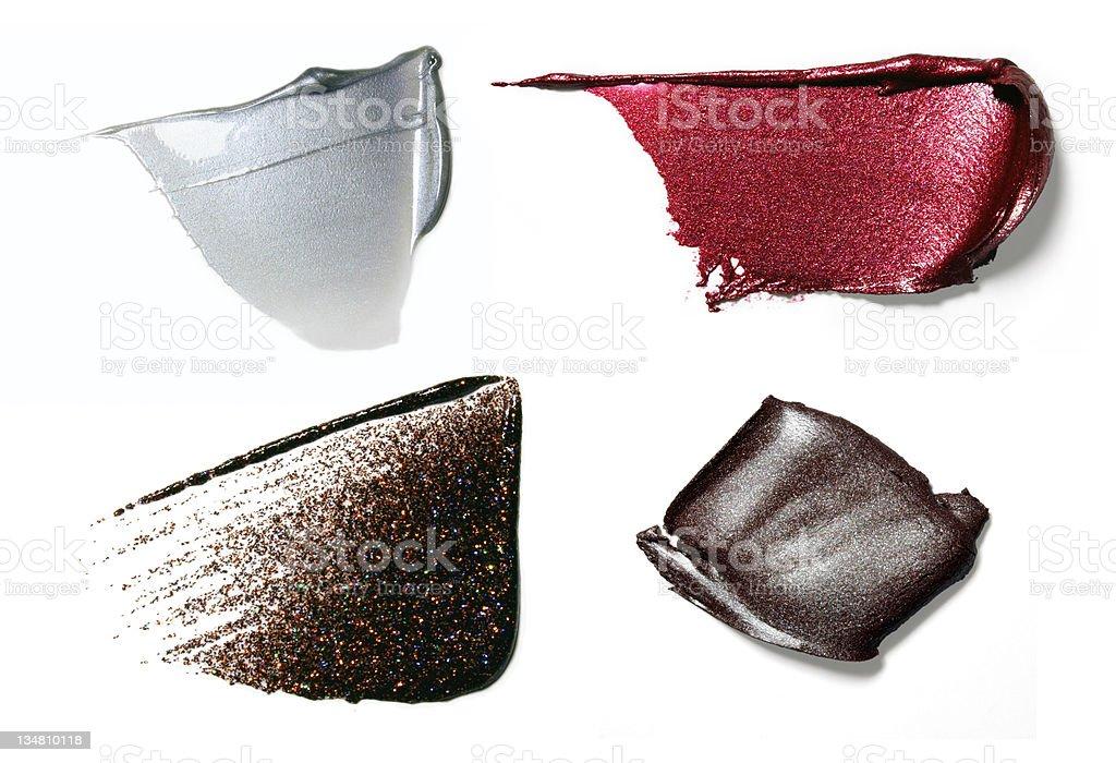 Crushed Make-up royalty-free stock photo