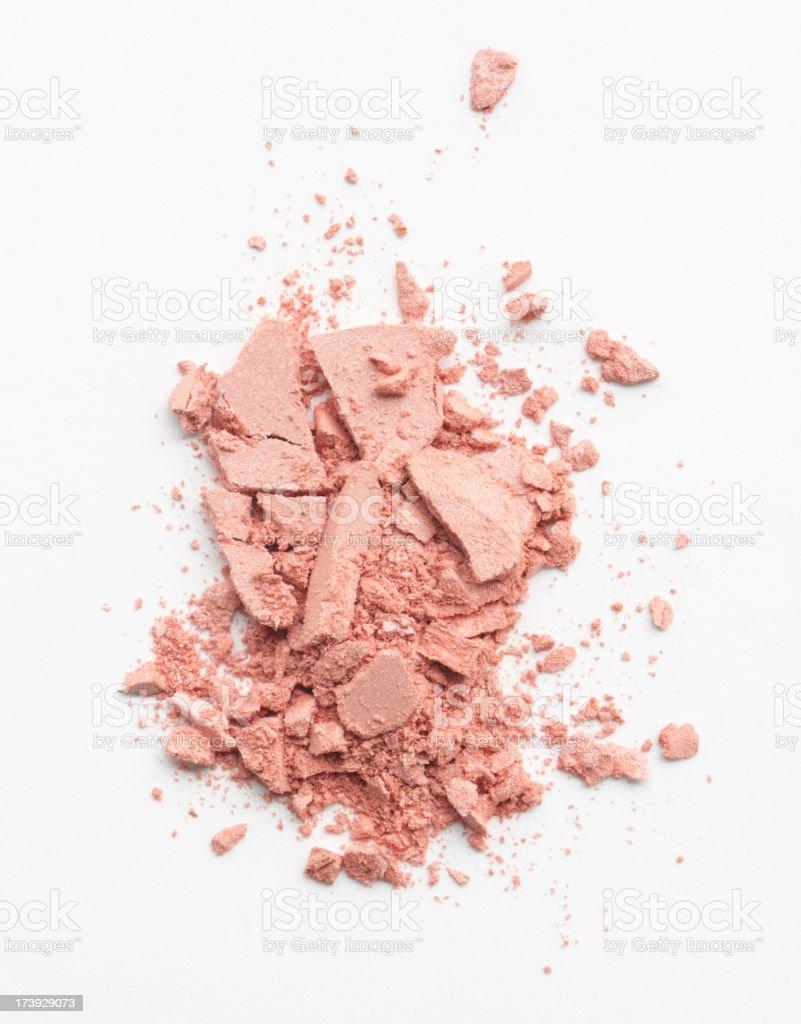 Crushed Natural Makeup royalty-free stock photo