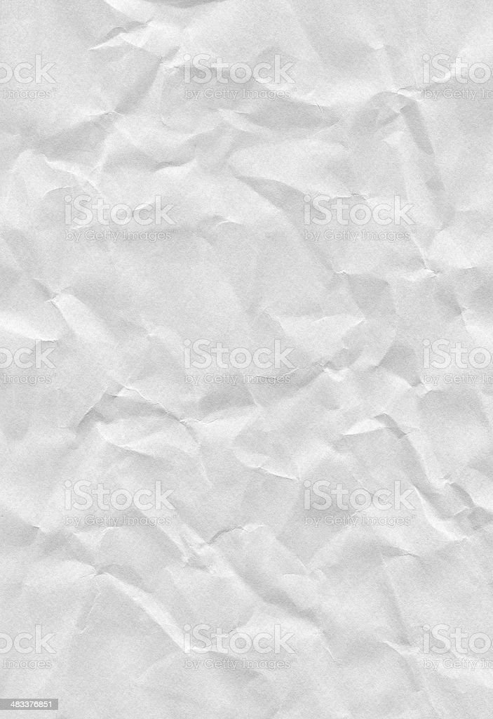 Crushed Paper stock photo