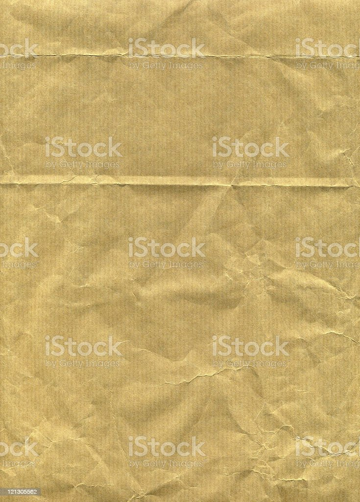 crushed paper XXL royalty-free stock photo