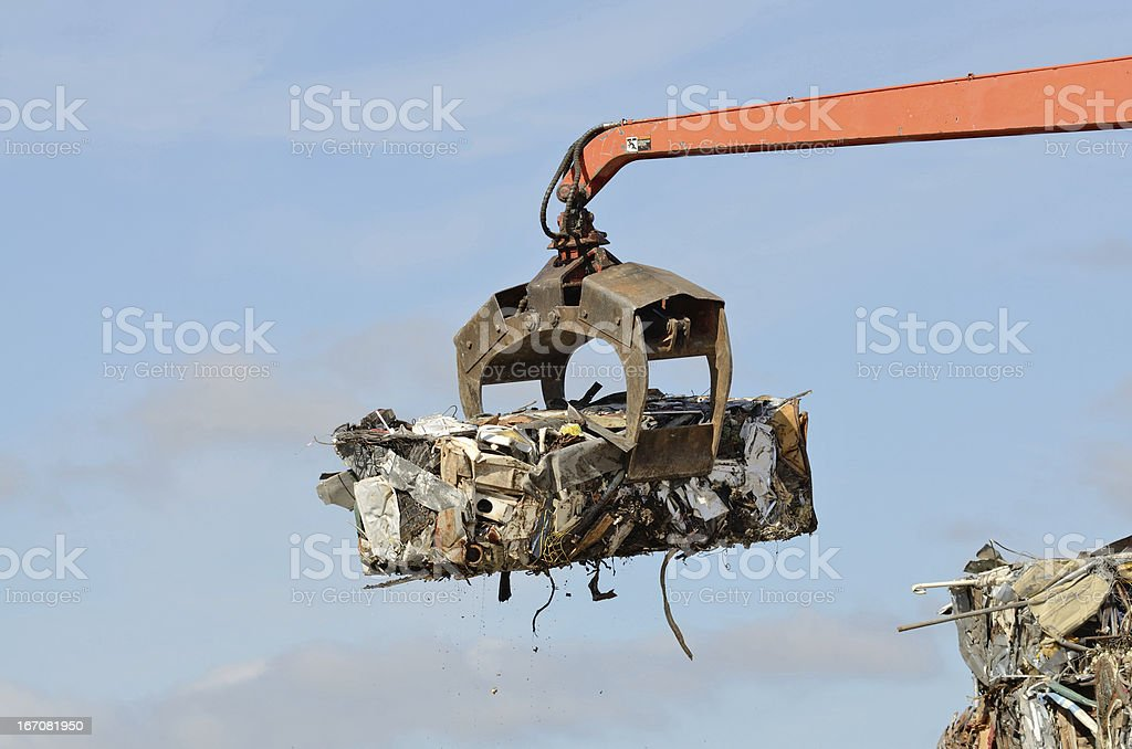 Crusher Loader royalty-free stock photo