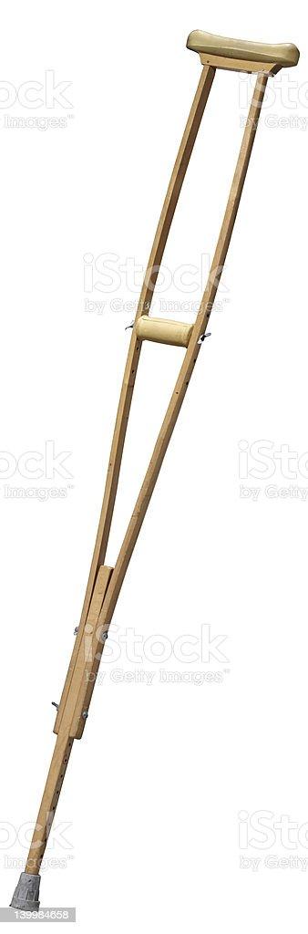 crutches royalty-free stock photo