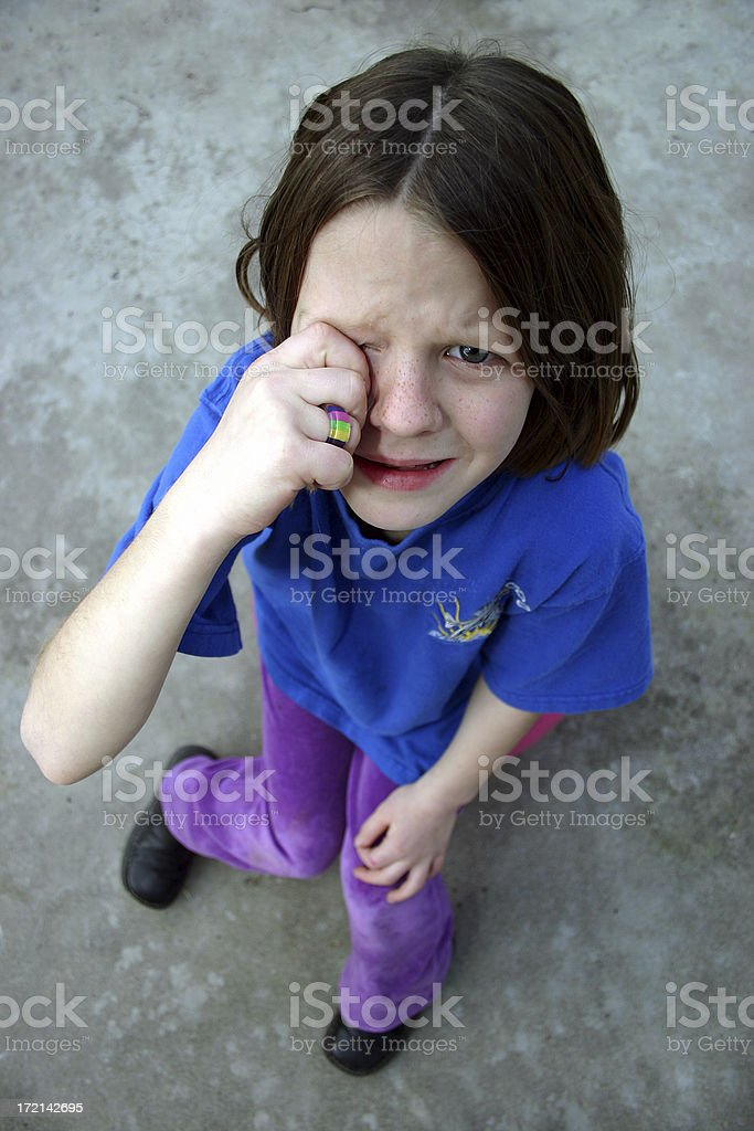 Cry Baby royalty-free stock photo