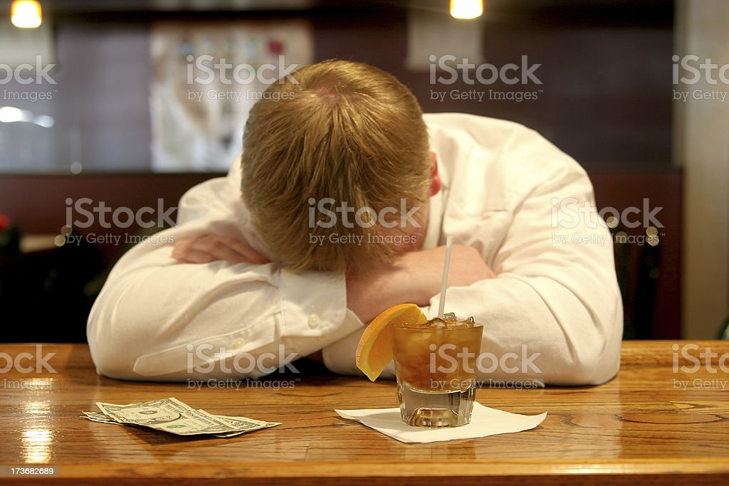 Cry in your cocktail. royalty-free stock photo