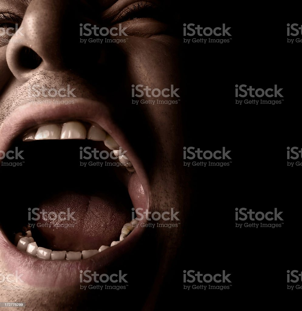 cry royalty-free stock photo