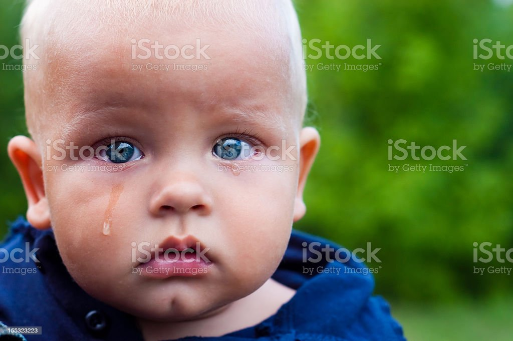 crying child royalty-free stock photo