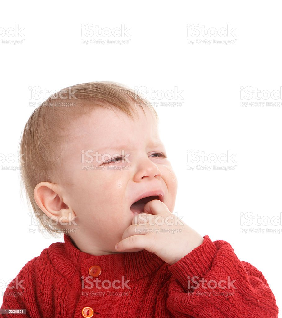 crying kid royalty-free stock photo