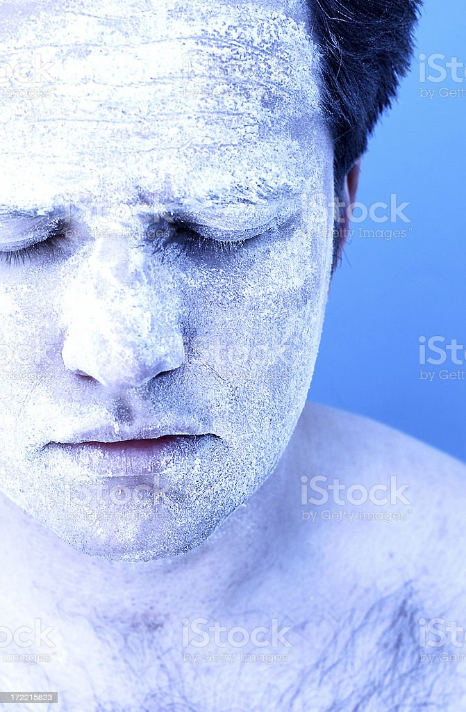 Cryonics stock photo