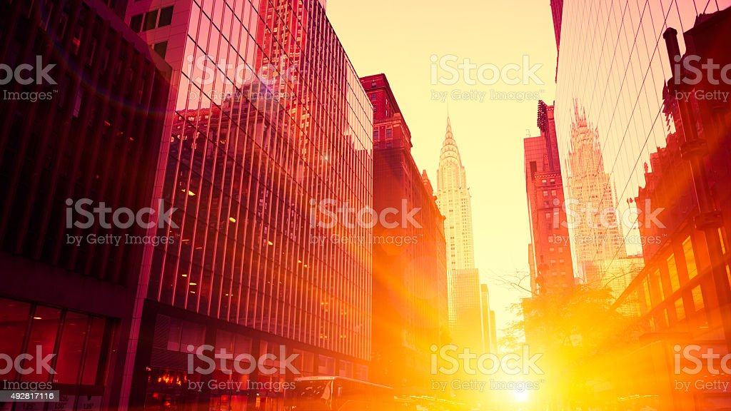 Crysler building, New York stock photo