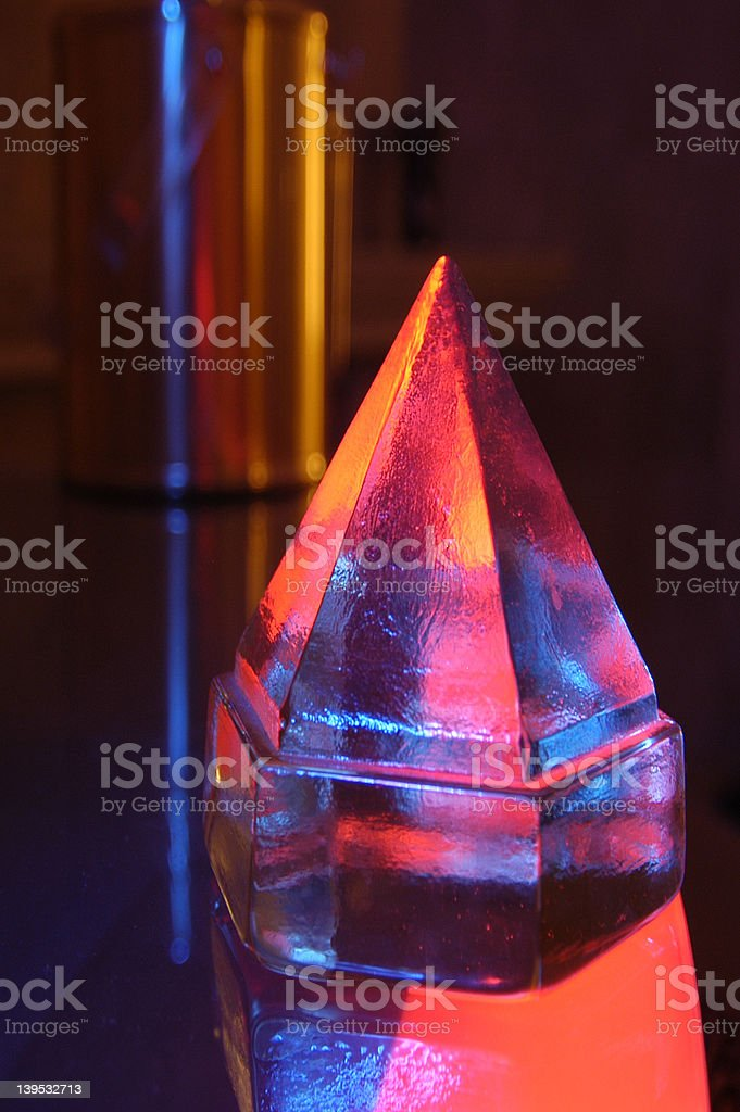 Crystal 01 royalty-free stock photo