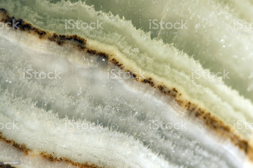 Crystal, an abstract beautiful background stock photo