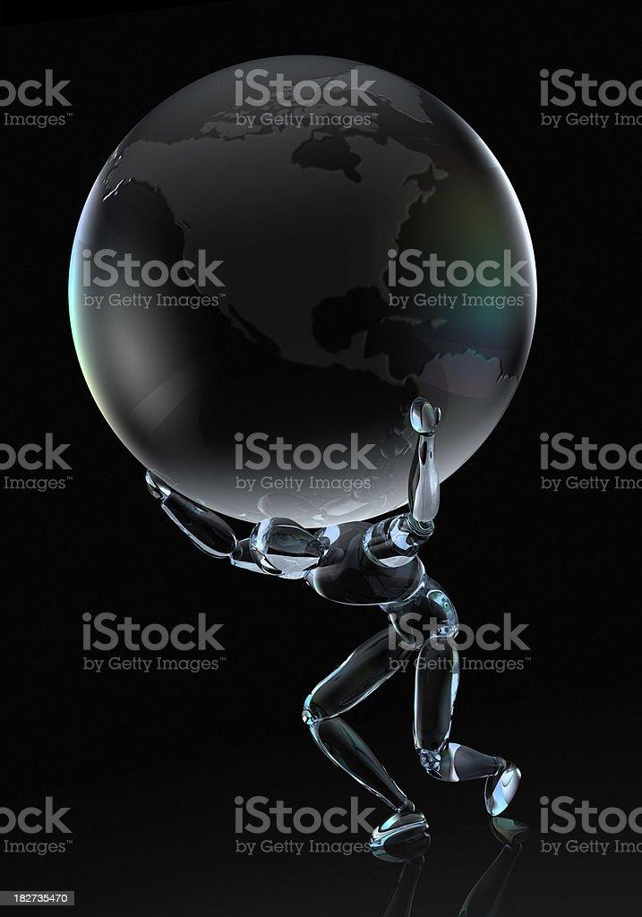 Crystal Atlas stock photo