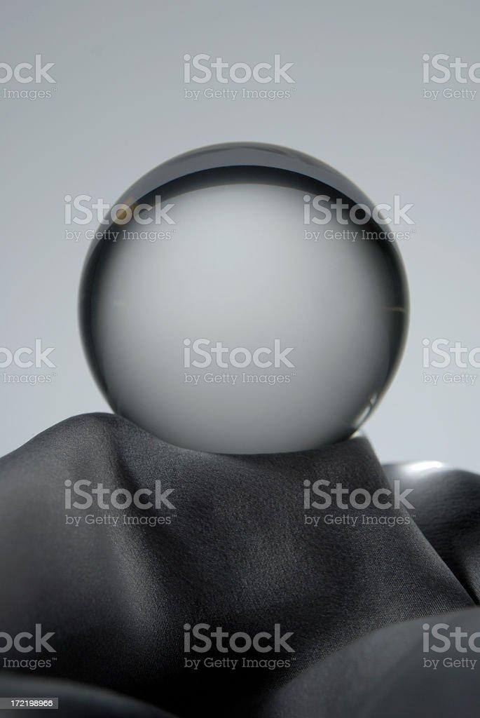 Crystal Ball Large royalty-free stock photo