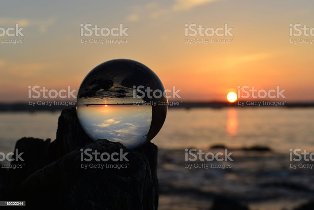 Crystal ball, U.K. stock photo