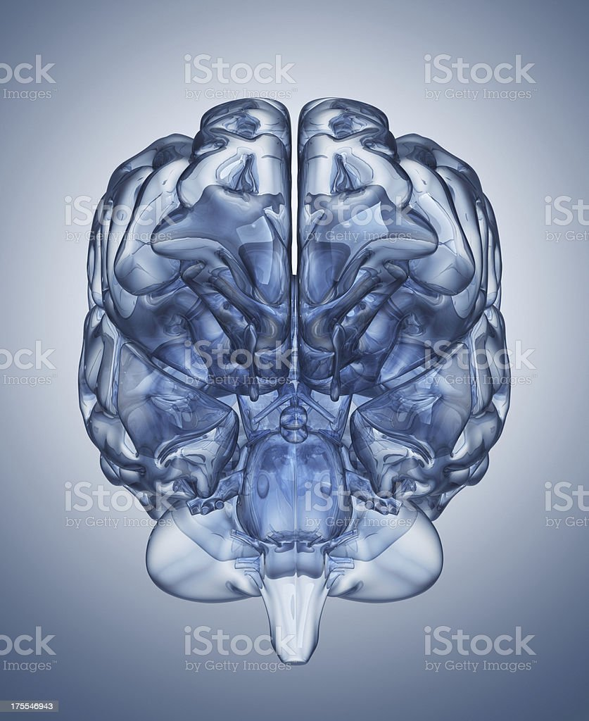 Crystal clear mind stock photo