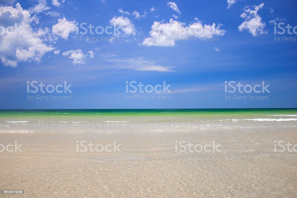 Crystal clear sea of tropical island, Similan, Thailand stock photo