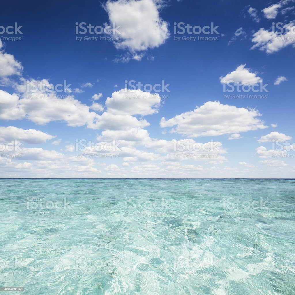 Crystal Clear Water stock photo