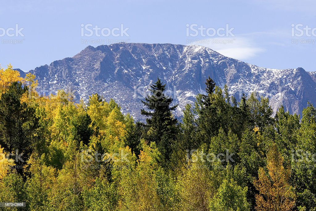 Crystal Creek Autumn royalty-free stock photo