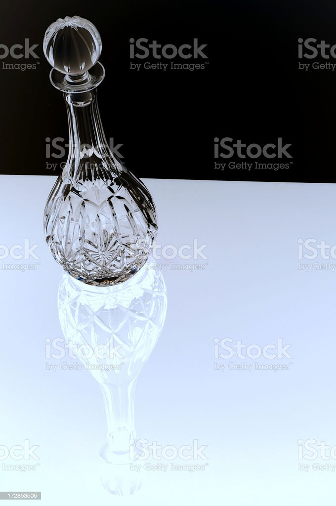 Crystal Decanter royalty-free stock photo