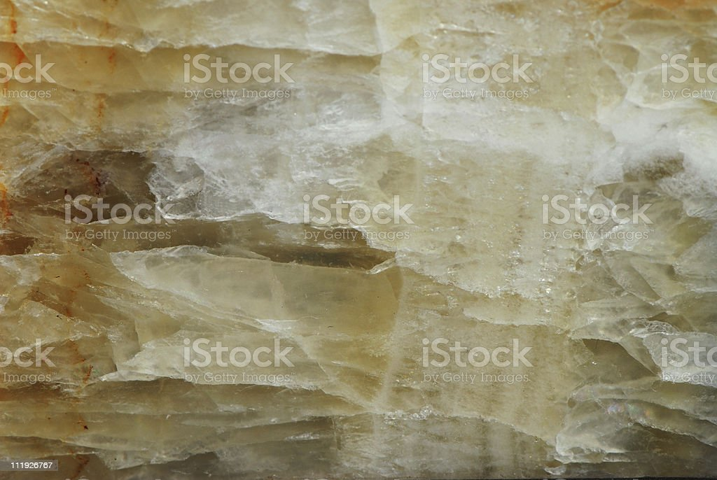 Crystal Detail royalty-free stock photo