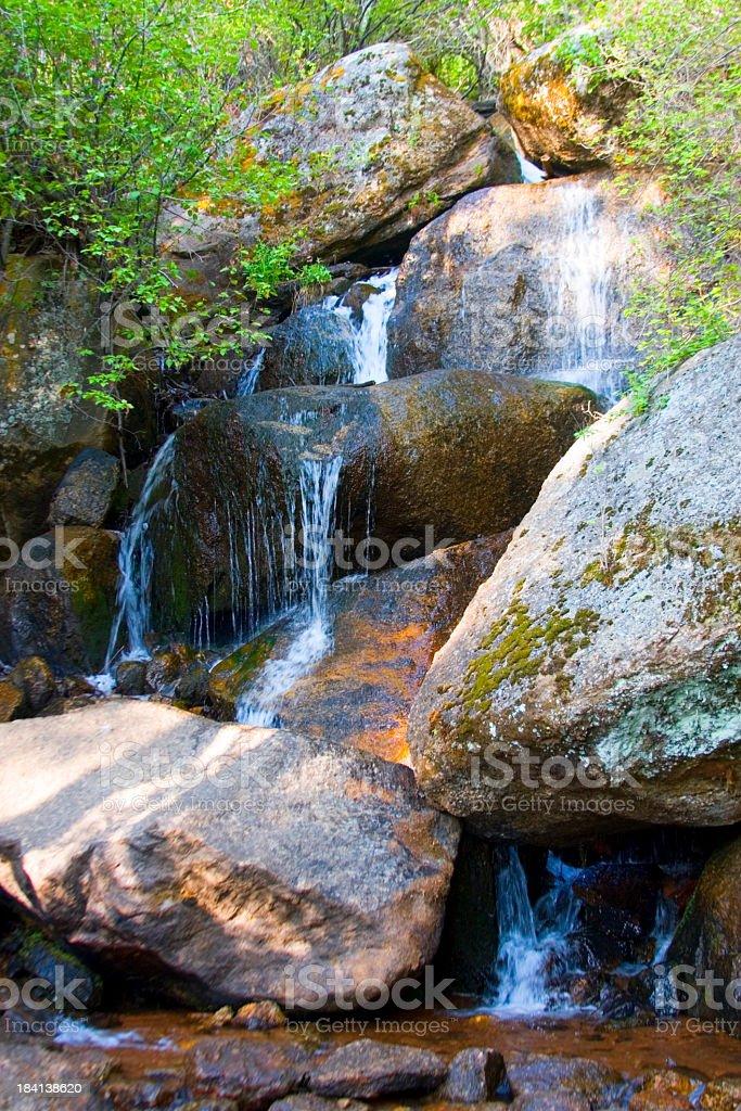 Crystal Falls stock photo