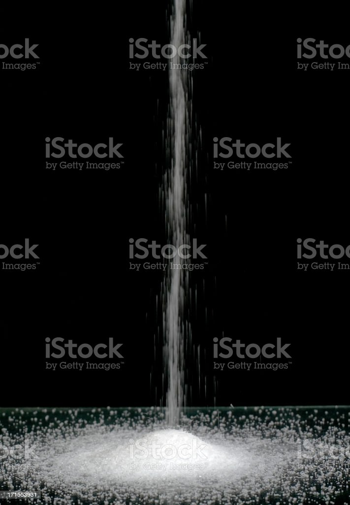 Crystal flow royalty-free stock photo