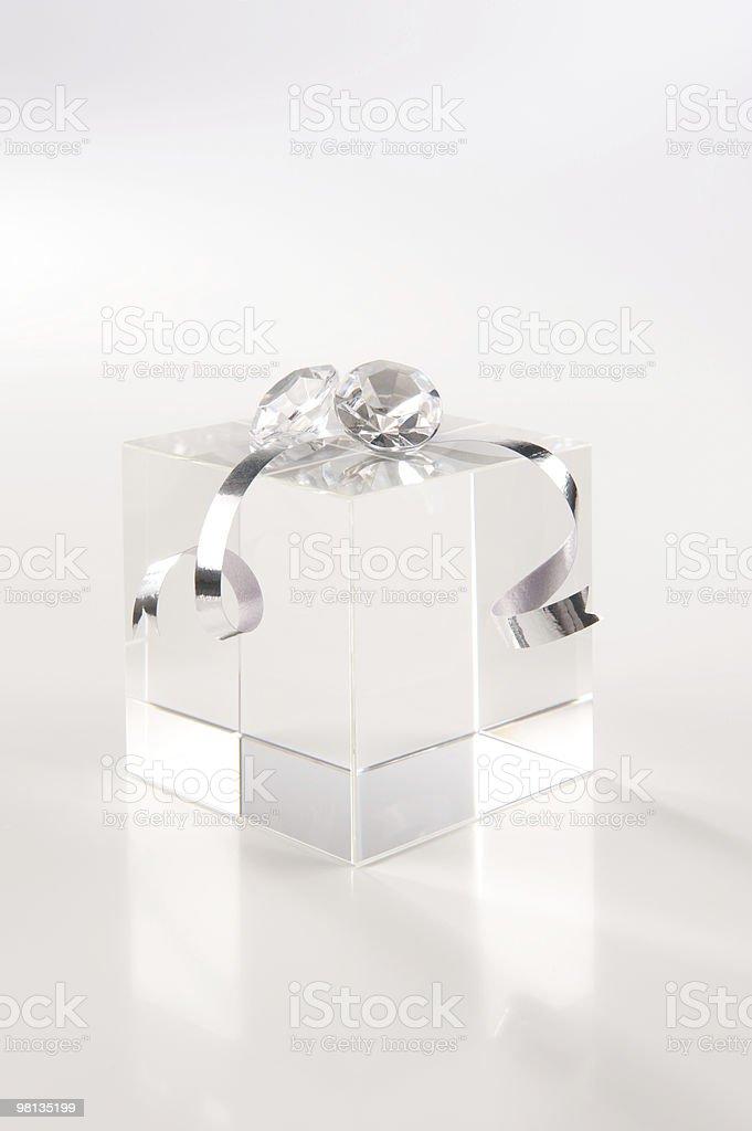 crystal gift stock photo