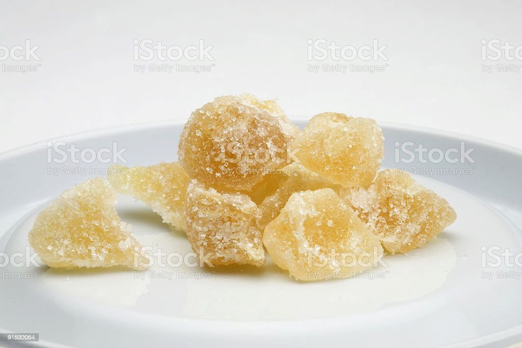 Crystal Ginger royalty-free stock photo