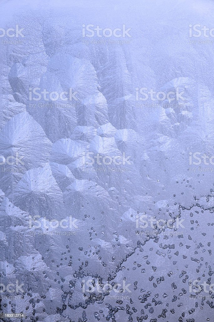 Crystal growth royalty-free stock photo