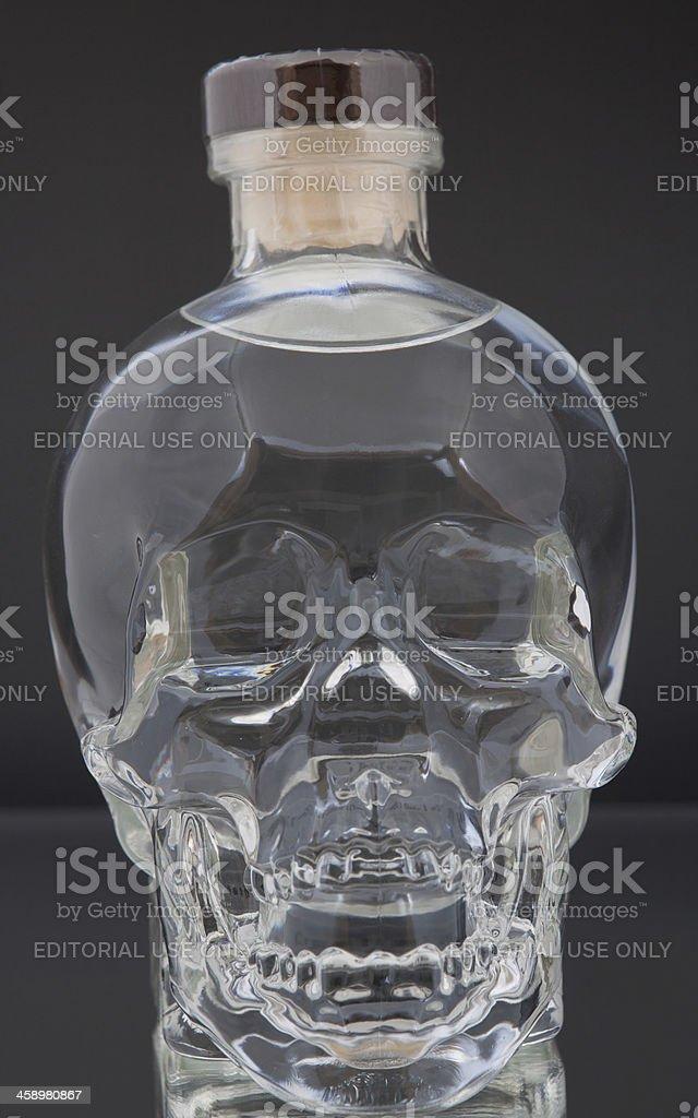 Crystal Head Vodka stock photo