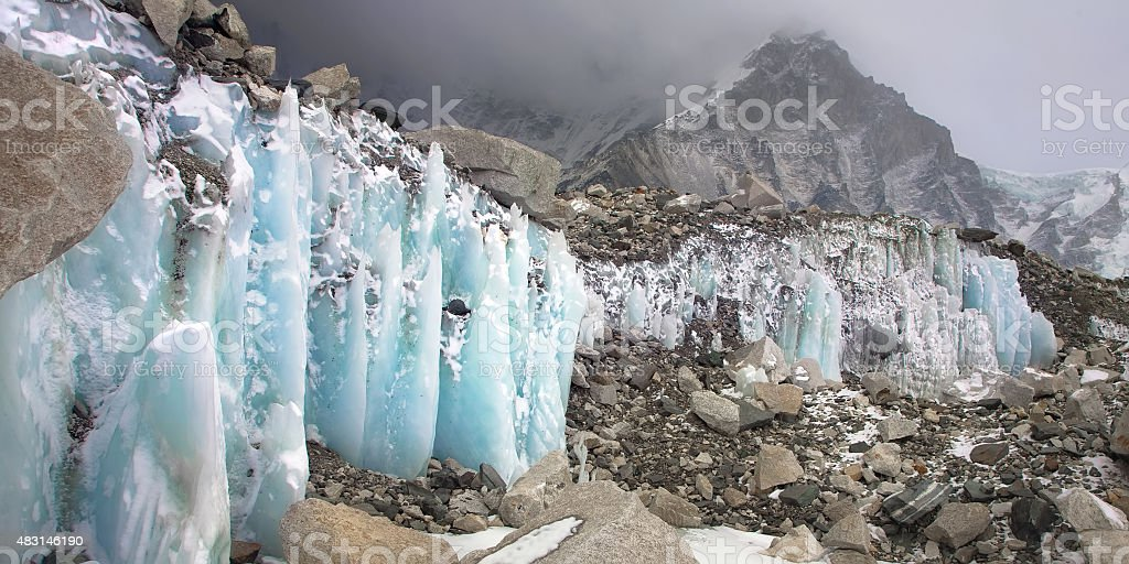 Crystal ice stock photo