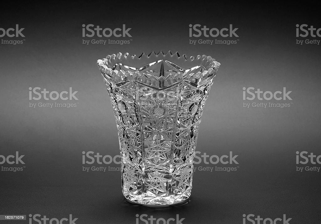 Crystal Jar royalty-free stock photo