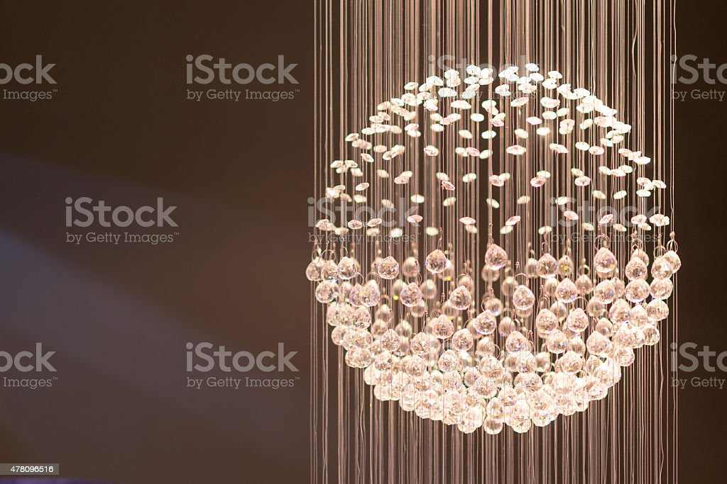 Crystal Light Display stock photo