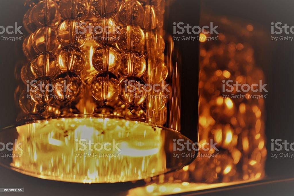 Crystal Light stock photo