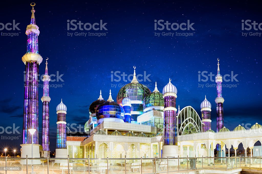 Masjid Kristal stock photo