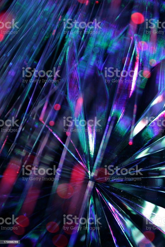 Crystal Pattern Light stock photo