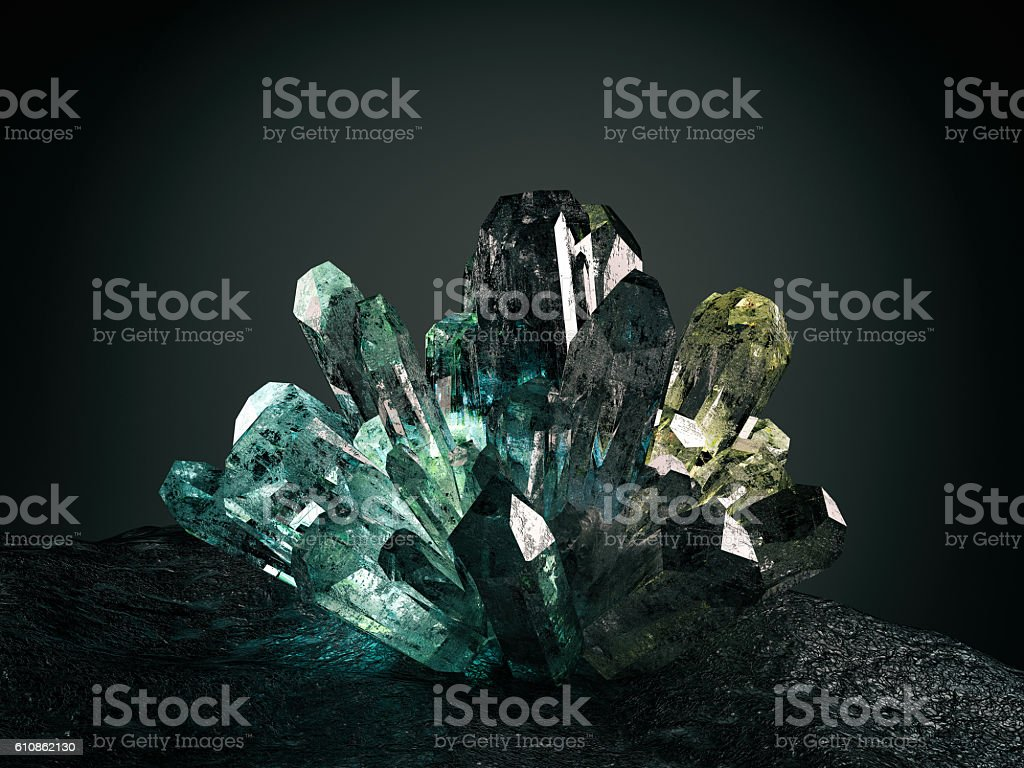 Crystal stock photo